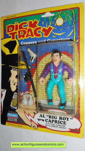 Dick Tracy BIG BOY CAPRICE AL movie 1990 action figures playmates toys moc