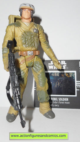 Hoth Rebel Soldier 1997 STAR WARS Power of the Force POTF FF Freeze Frame