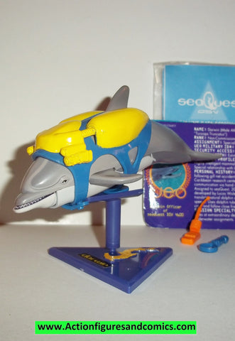 SeaQuest DSV action figures DARWIN the DOLPHIN 1993 playmates toys complete