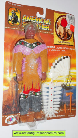 American Frontier Mego style retro GERONIMO DSI toys 8 inch action figures