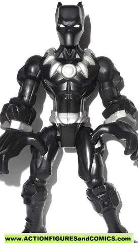 Marvel Super Hero Mashers BLACK PANTHER 6 inch universe action figure 2015
