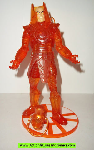 dc direct LEX LUTHOR orange lantern blackest night superman collectables action figures complete universe