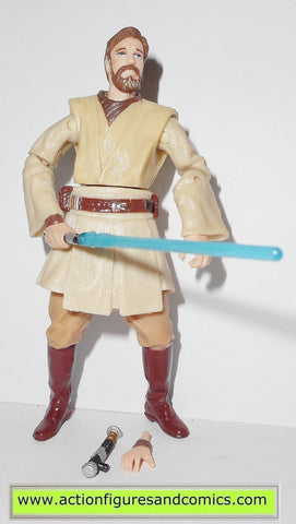 star wars action figures OBI WAN KENOBI 1 2005 Revenge of the sith