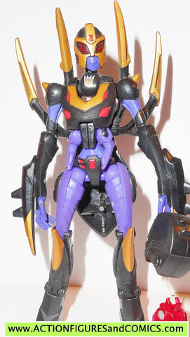 transformers animated BLACKARACHNIA spider complete 2008 hasbro
