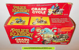 Police academy action figures CRASH CYCLE 1988 moc kenner toys mib