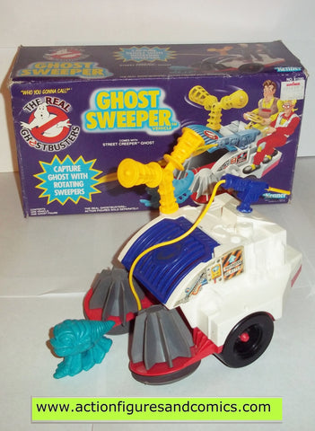 Ghostbusters GHOST SWEEPER vintage the real kenner mib near complete moc mip