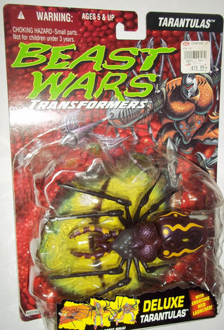 Hasbro Transformers Beast Wars 1995 ORIGINAL TARANTULAS 100% complete in opened package Rock bubble card