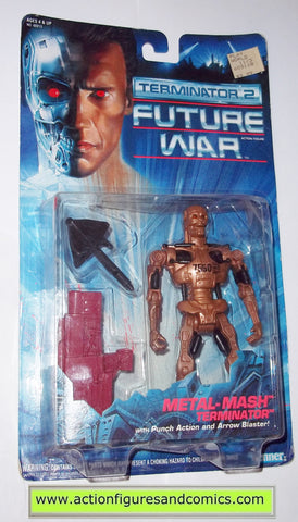 Terminator kenner METAL MASH T-700 movie 2 future war action figures toys moc mip mib