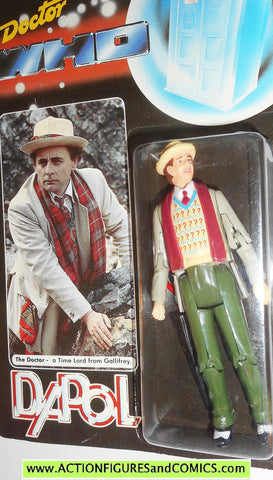 doctor who action figures SEVENTH DOCTOR vintage 1987 DAPOL dr moc