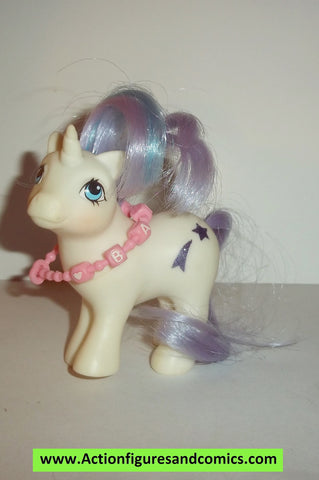 my little pony BABY GLORY 1984 necklace mlp vintage newborn 1985 ponies #0702