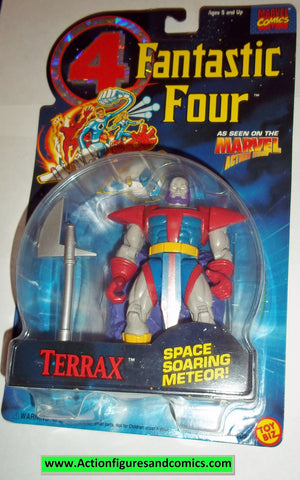 Fantastic Four TERRAX 1995 marvel action hour moc mip mib