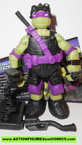 teenage mutant ninja turtles DONATELLO stealth tech 2015 Nickelodeon playmates toys tmnt card