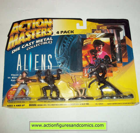 aliens vs predator kenner ACTION MASTERS 4 pack 1994 movie moc mip mib figures