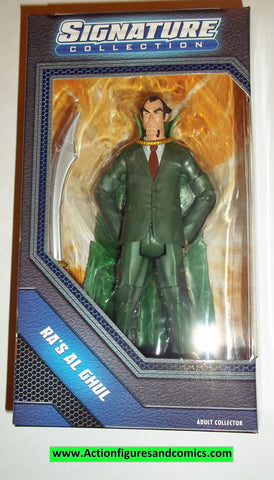dc universe classics RA'S AL GHUL signature collection series batman moc mip mib new action figures
