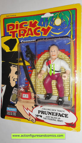 Dick Tracy PRUNEFACE movie 1990 action figures playmates toys moc