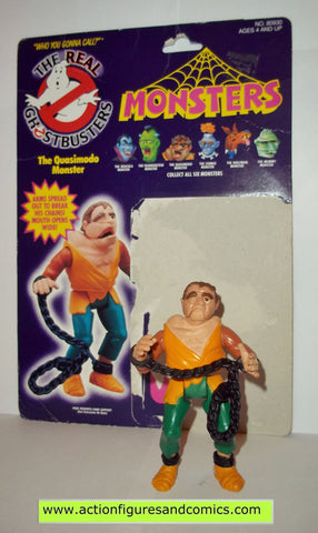 ghostbusters QUASIMODO MONSTER 1988 the real kenner complete full card