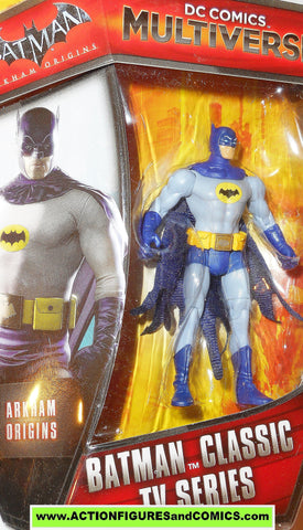 dc universe Multiverse BATMAN adam west classic TV series 1966 66 MOC