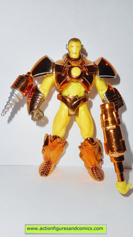 Iron man SUBTERRANEAN ARMOR 1996 marvel universe action hour toy biz figures