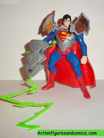 Total Justice JLA SUPERMAN 1996 dc universe justice league kenner action figures