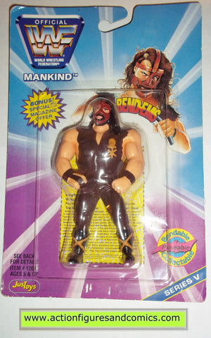 mankind wwf wwe action figures bend ems mick foley