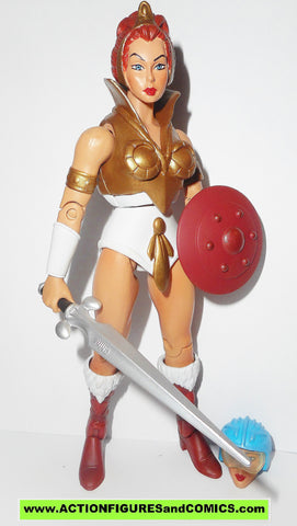 masters of the universe TEELA classics 2.0 filmation he-man action figures