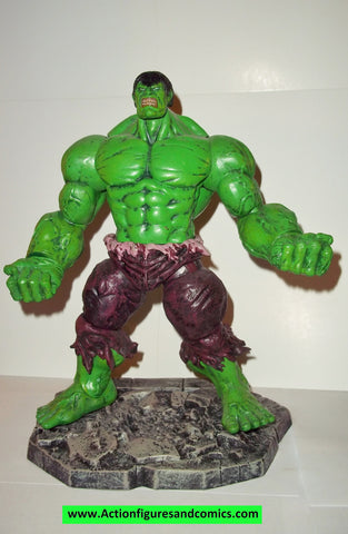 marvel select HULK green 10 inch marvel legends complete 2012