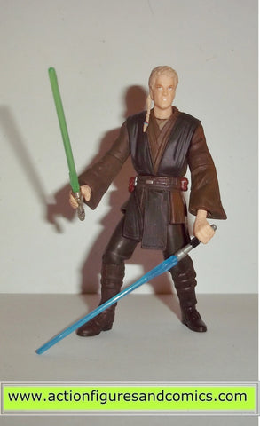 star wars action figuers ANAKIN SKYWALKER hanger duel 2002 saga aotc
