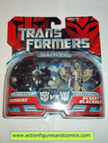 Transformers movie IRONHIDE vs DESERT BLACKOUT legends action figures moc mip mib