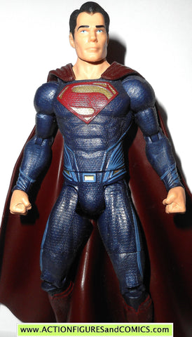 dc universe classics SUPERMAN man of steel movie masters DARK RED BLUE