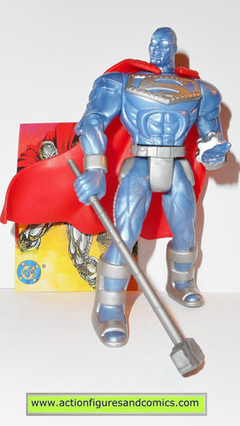 Superman Man of Steel STEEL JOHN HENRY IRONS action figure dc kenner