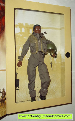 Gi joe US ARMY HELICOPTER PILOT G I JANE 12 inch commemorative wwII 50th anniversary brown hair mib moc mip vintage
