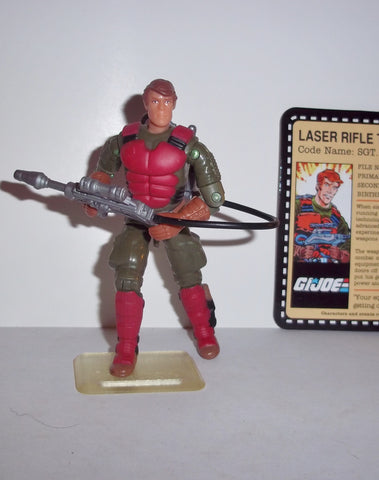 gi joe FLASH 2007 25th anniversary sgt CONVENTION tanks for the memories complete