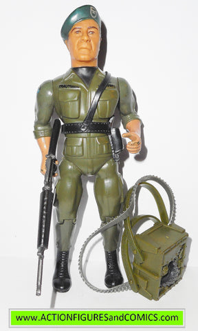 RAMBO action figures COLONEL TRAUTMAN 1986 coleco vintage force of freedom