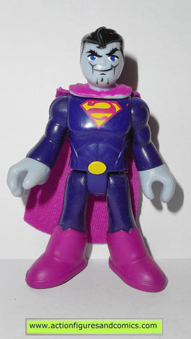DC imaginext BIZARRO superman fisher price justice league super friends