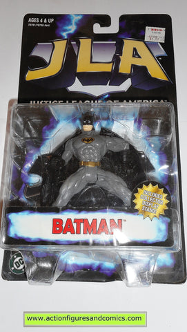 Total Justice JLA BATMAN black gray 1998 dc universe league action figure MOC 00