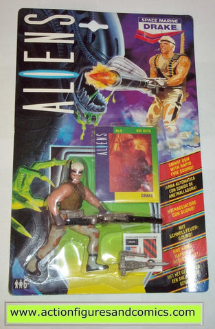 aliens vs predator kenner DRAKE 1992 UK European exclusive movie moc mip mib action figures