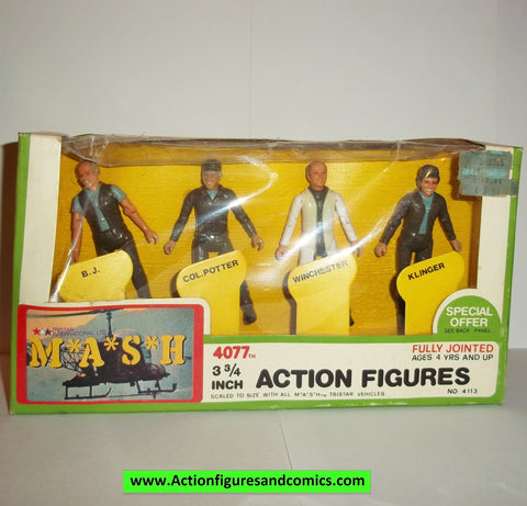 M*A*S*H* mash tv series action figures 4 PACK BOXED SET 1982 moc mip mib