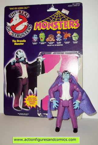 ghostbusters DRACULA MONSTER 1988 the real kenner complete full card