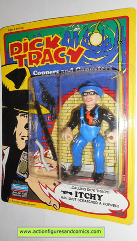 Dick Tracy ITCHY movie 1990 action figures playmates toys moc 000