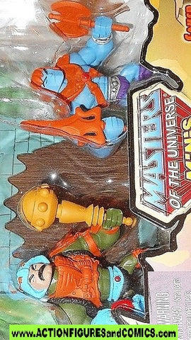 masters of the universe minis MAN AT ARMS FAKER HE-MAN classics action figures moc