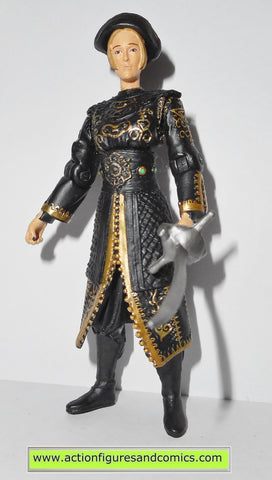 Pirates of the Caribbean ELIZABETH SWANN black dress 2007 action figures 744