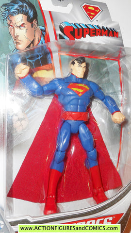 dc universe Total Heroes SUPERMAN 2013 6 inch mattel action figures moc