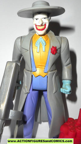 batman animated series JOKER MACHINE GUN trench coat tas 1997 dc universe