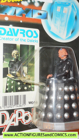 doctor who action figures DALEK DAVROS vintage 1987 DAPOL dr moc