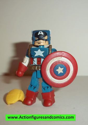 minimates CAPTAIN AMERICA series 44 action figure