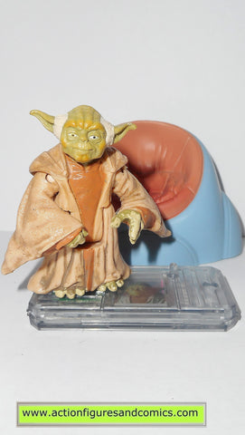 star wars action figures YODA jedi council chair 1999 episode I 1 complete hasbro toys