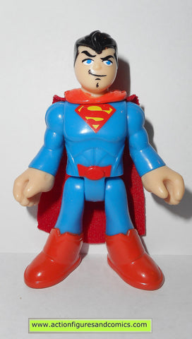 DC imaginext SUPERMAN smile face fisher price justice league super friends