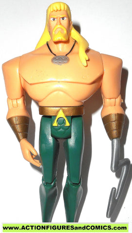 justice league unlimited AQUAMAN hook hand dc universe action figures