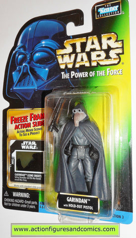 Power of the Force Freeze Frame  Garindan Action Figure Star Wars