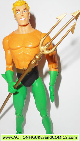 dc direct AQUAMAN SILVER AGE collectibles justice league action figures tri
